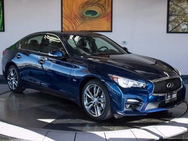 Pre Owned Infiniti Q50 >> Certified Pre Owned 2017 Infiniti Q50 Sport 4d Sedan In Highlands