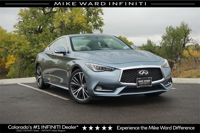 Pre Owned 2017 Infiniti Q60 30t Premium 2d Coupe In Highlands Ranch