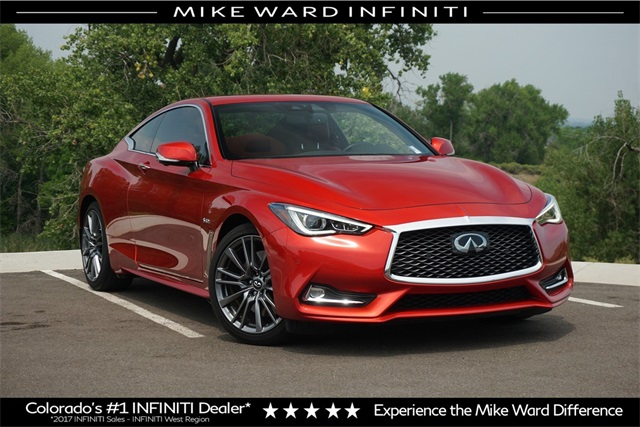 Pre Owned 2017 Infiniti Q60 Red Sport 400 2d Coupe In Highlands