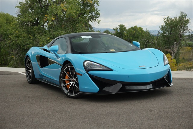 Pre Owned 2018 Mclaren 570s Spider 2d Convertible In Highlands Ranch