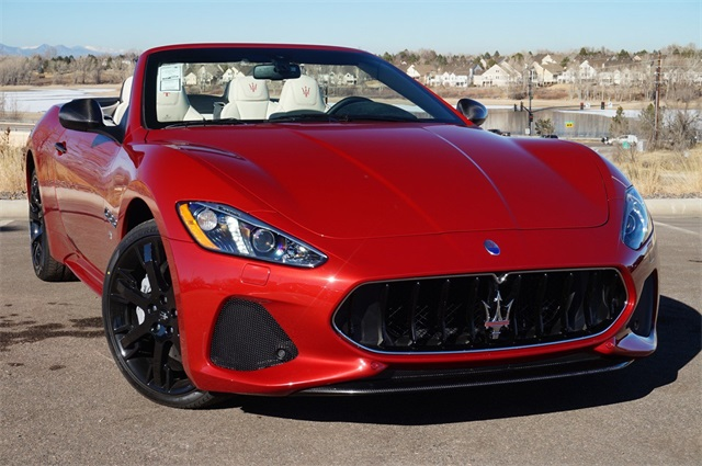 New 2018 Maserati GranTurismo Sport 2D Convertible in ...