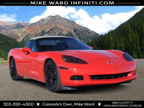 Pre-Owned 2008 Chevrolet Corvette Convertible
